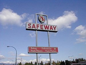 Steven Burd - Safeway Inc. sign