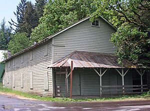 Saginaw's former grange hall