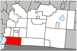 Location within Brome-Missisquoi RCM