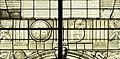Saint-Chapelle de Vincennes - Baie 1 - Inscription et monogramme dans un décor d'architecture (bgw17 0746).jpg
