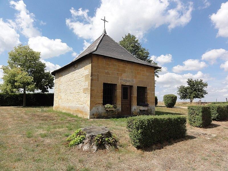 Saint-Laurent-sur-Othain (Meuse) chapelle N.D. de Bon Secours extérieur