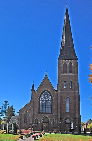 Roman Catholic Diocese of Marquette - Image: Saint Marys Cathedral Sault Ste Marie MI