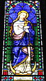 Saint Peter Church (Upper Sandusky, Ohio) - stained glass, Immaculate Conception.jpg