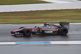 HRT Formula 1 Team - Sakon Yamamoto replaced Chandhok for the 2010 German Grand Prix.