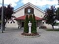 Salesian Secondary School, bust, 2020 Nyergesújfalu.jpg