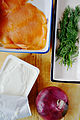 Salmon, cheese spread & onion (16322230734).jpg