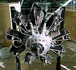 Salmson engine, 1919 - Evergreen Aviation & Space Museum - McMinnville, Oregon - DSC00480.jpg