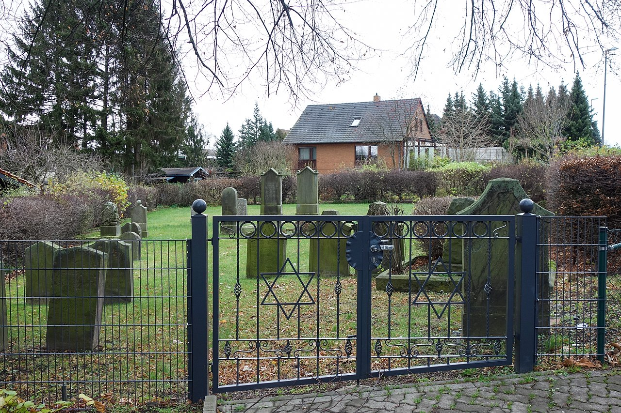 Salzgitter-Bad - Jüdischer Friedhof - Eingangsbereich 2015-11.jpg