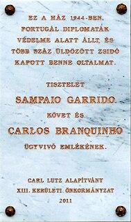 Carlos Sampaio Garrido Portuguese diplomat
