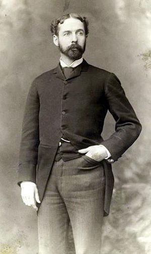 Samuel Franklin Emmons - Samuel Franklin Emmons in 1889