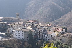 Panorama of San Godenzo