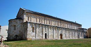 La basilica di San Gavino