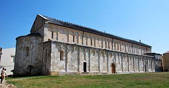 Porto Torres - Image: San Gavino Aussenansicht