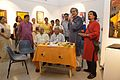 Sandip Ray Addressing - Inaugural Session - Frames in Focus - Group Exhibition - Kolkata 2015-04-21 8339.JPG