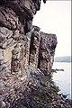 Sandstone crags, Eilean Mòr - geograph.org.uk - 738107.jpg