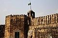 Sangni Fort-Flag post.JPG