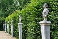 Sanssouci - Parkanlage - Kopien antiker Büsten am Obeliskportal - DSC4441.jpg