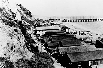 Long Wharf (Santa Monica) - Long Wharf in Santa Monica, 1900