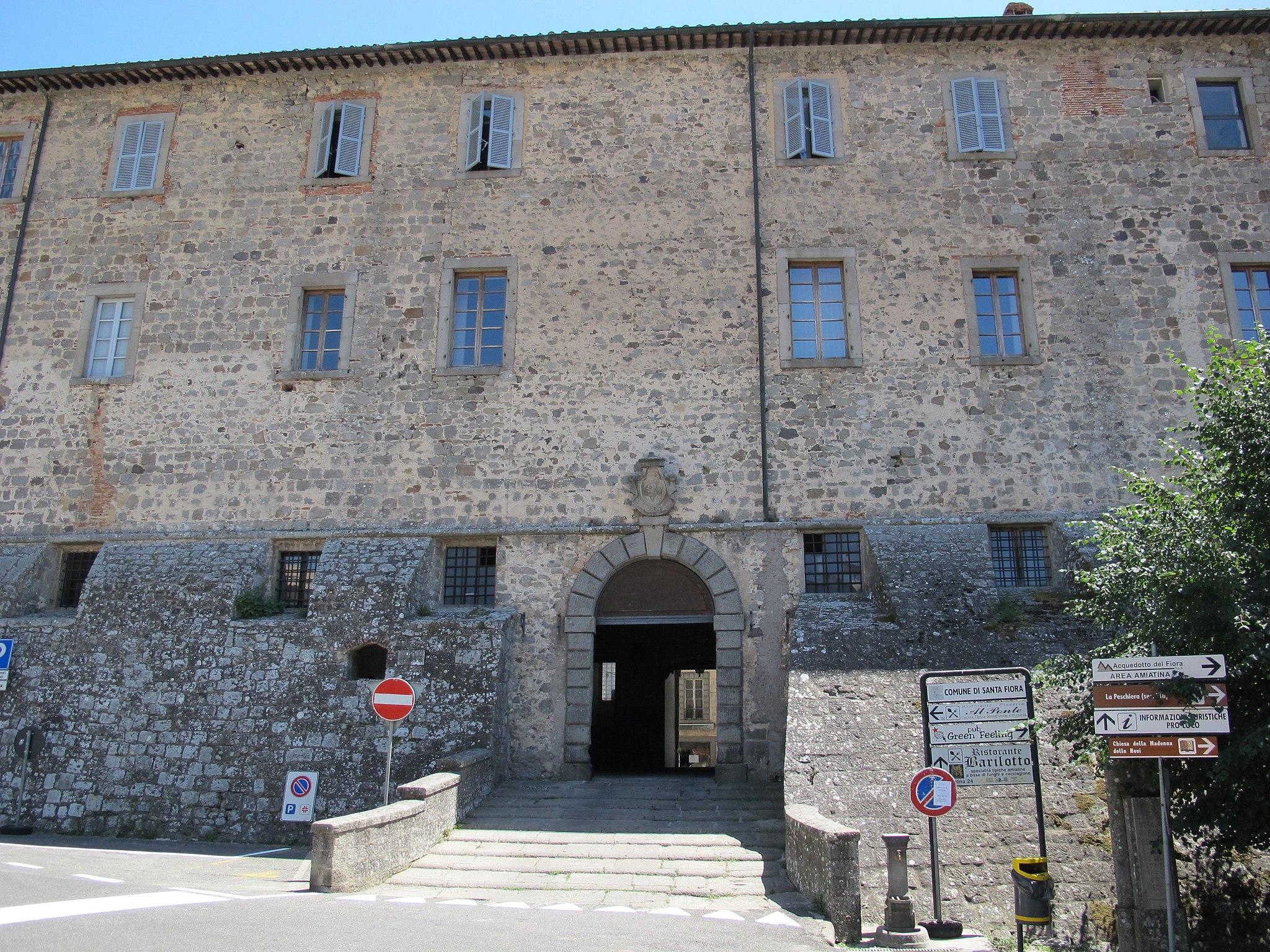Santa Fiora, Rocca Aldobrandesca