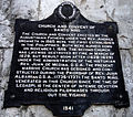 Santo Niño Church and Convent Marker Cebu City.JPG