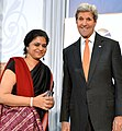 Sara Hossain of Bangladesh and U.S. Secretary of State John Kerry - IWOC 2016.jpg