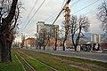Sarajevo Tram-Line Hotel-Bristol 2011-11-12.jpg