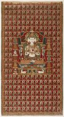 Sarvavid Vairochana, From a Set of the Five Jina Buddhas, based on Complete Purification of All Evil Rebirths (Sarva Durgati Parishodana Tantra)