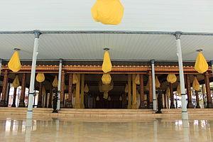Kraton (Indonesia) - Pendopo (pavilion) in Kraton Surakarta.