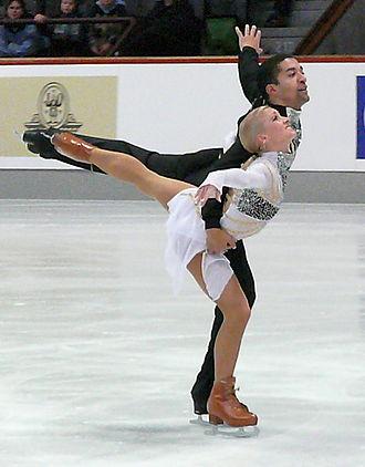Aliona Savchenko - Savchenko and Szolkowy at the 2007 German Championships.