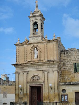 Victoria, Gozo - Church of Ta' Savina in Victoria.