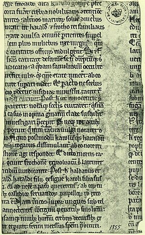 Kall-Rasmussen Fragment - Page 1, Front