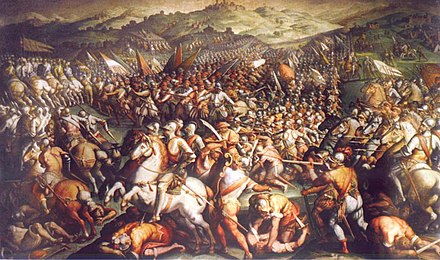 The Battle of Marciano by Giorgio Vasari Scannagallo Vasari.jpg