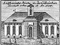 Schleuen - Luthersiche Kirche i.d. Cöllnischen Vorstadt 1757.jpg