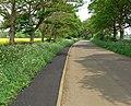 School Lane towards Buckminster - geograph.org.uk - 805311.jpg