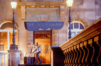 The Scotsman Hotel - Entrance to The Scotsman Hotel