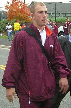 Sean Glennon - Glennon while at Virginia Tech.