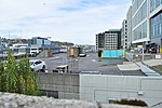 Seattle - rooftop parking lot of the Fred Rogers Building from atop the Brunswick Building.jpg