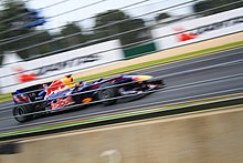 Photo de la Red Bull RB6 de Vettel à Melbourne