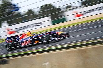 2010 Australian Grand Prix - Sebastian Vettel took his second consecutive pole position of the season at Melbourne.