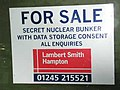 Secret Nuclear Bunker - can now be yours - geograph.org.uk - 125978.jpg