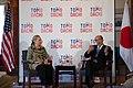 Secretary Clinton and Ambassador Roos at the Tomodachi Event (7527666840).jpg