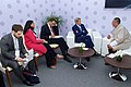 Secretary Kerry, Ambassador Verma, and advisers meet with Bhutanese Prime Minister Tobgay at Vibrant Gujarat Summit.jpg