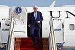 Secretary Kerry Deplanes After Arriving in Abu Dhabi, UAE (30911385661).jpg