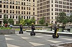 Segway riders touring Mellon Square Park, Pittsburgh.jpg