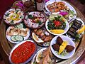 Selection of Meza From Cafe Nouf Restaurant.JPG