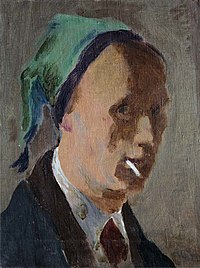 Self-portrait by Vladimir Grinberg (1937).jpg