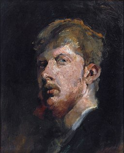 Self portrait, by George Hendrik Breitner