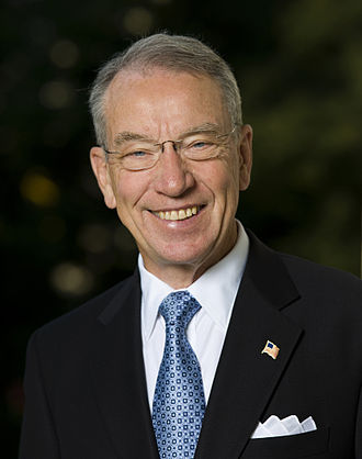 United States congressional delegations from Iowa - Senior U.S. Senator Chuck Grassley (R)