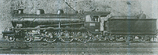 Sentetsu Tehoi-class locomotive 4-6-0 steam locomotive
