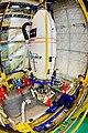 Sentinel-2A satellite - Careful gantry lift.jpg